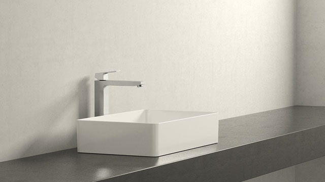 GROHE Eurocube XL-TAILLE + Laufen Living Square