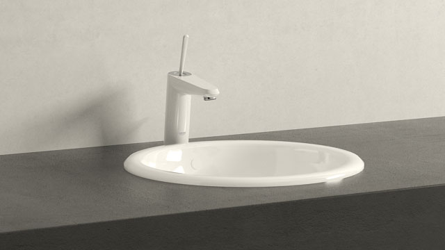 GROHE EURODISC JOY MΜΕΓΕΘΟΣ + Villeroy&Boch Loop & Friends