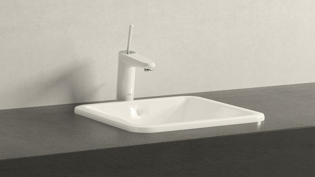 GROHE EURODISC JOY M-SIZE + Villeroy&Boch Loop & Friends
