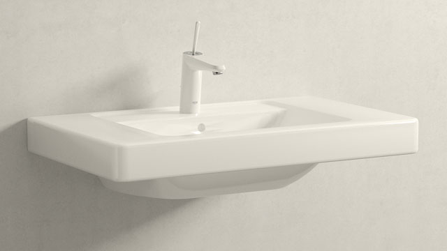 GROHE EURODISC JOY M-TAILLE + Villeroy&Boch Omnia architectura