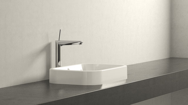GROHE EURODISC JOY XL-SIZE + Duravit Happy D.2