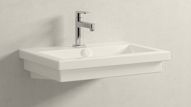 GROHE Quadra M-SIZE + Duravit 2nd floor