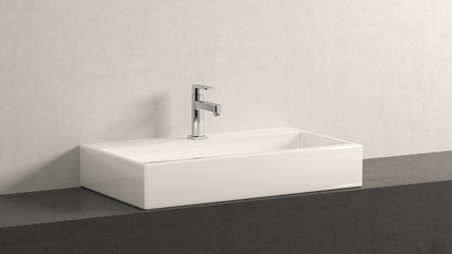 GROHE Quadra M-SIZE + Laufen Living City