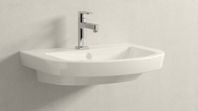 GROHE Quadra M-SIZE + Villeroy&Boch Subway 2.0