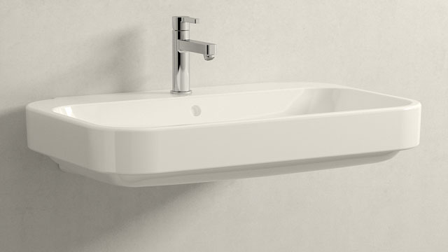 GROHE LINEARE M-SIZE + Duravit Happy D.2