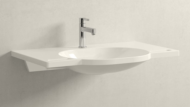 GROHE LINEARE M-SIZE + HEWI Waschtisch