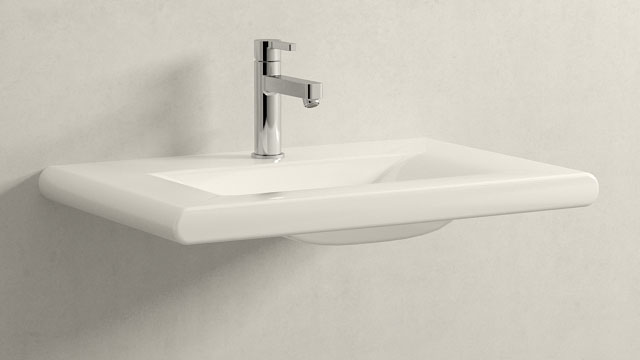 GROHE LINEARE M-VELIKOST + Laufen Living Style