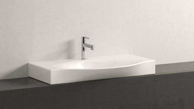 GROHE LINEARE M-SIZE + Laufen Palace