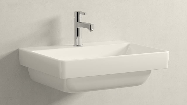 GROHE LINEARE M-SIZE + Laufen Pro S