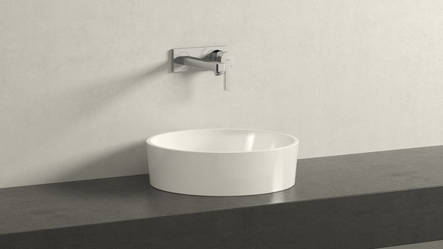 GROHE LINEARE M-SIZE + Laufen Kartell by Laufen
