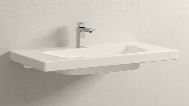 GROHE Eurocube M-TAILLE + Burgbad Max2