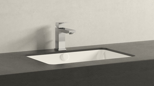 GROHE Eurocube M-TAILLE + Duravit 2nd floor