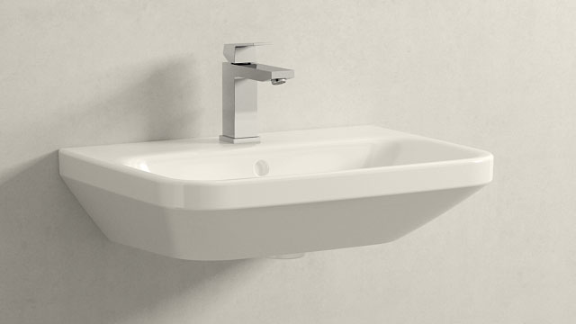 GROHE Eurocube M-TAILLE + Duravit Durastyle