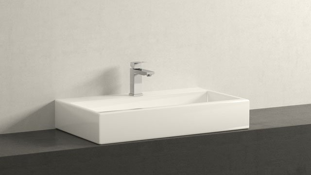 GROHE Eurocube M-TAILLE + Laufen Living City
