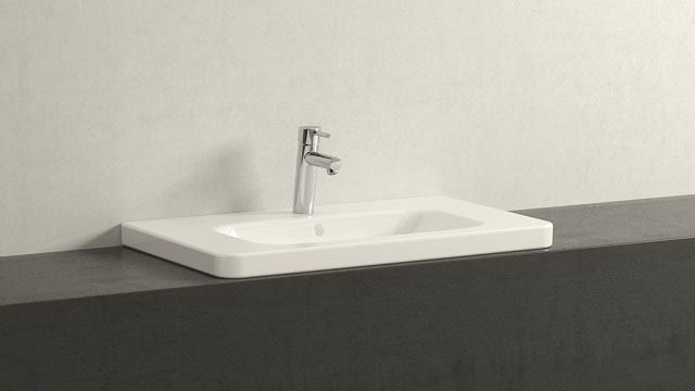 GROHE Concetto M-SIZE + Duravit Durastyle