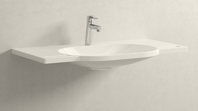 GROHE Concetto M-SIZE + HEWI Waschtisch