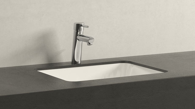 GROHE Concetto M-SIZE + Keramag Renova Nr. 1 Plan