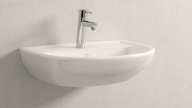 GROHE Concetto M-TAILLE + Laufen Pro B