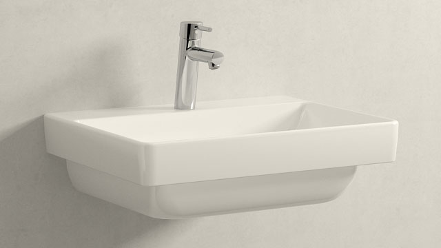 GROHE Concetto M-TAILLE + Laufen Pro S