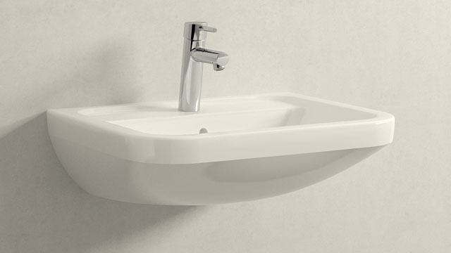 GROHE Concetto M-ГАБАРИТЫ + Villeroy&Boch Omnia architectura