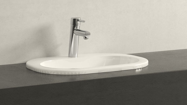 GROHE Concetto M-TAILLE + Villeroy&Boch O.novo