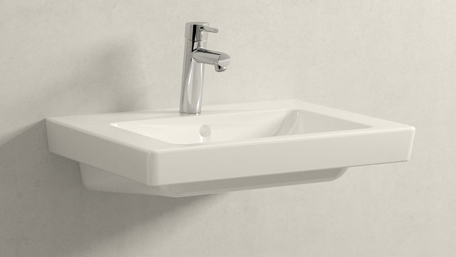 GROHE Concetto M-ГАБАРИТЫ + Villeroy&Boch Subway 2.0