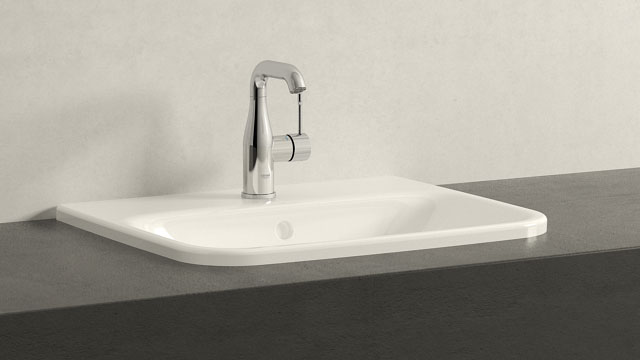 GROHE Essence NEW M-SIZE + Duravit Durastyle