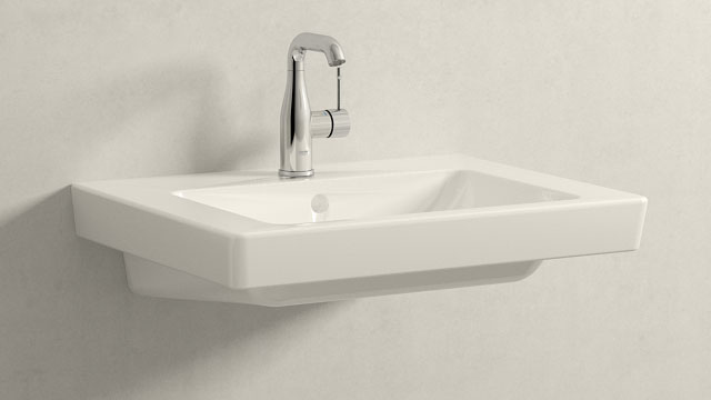 GROHE Essence NEW M-TAILLE + Villeroy&Boch Subway 2.0