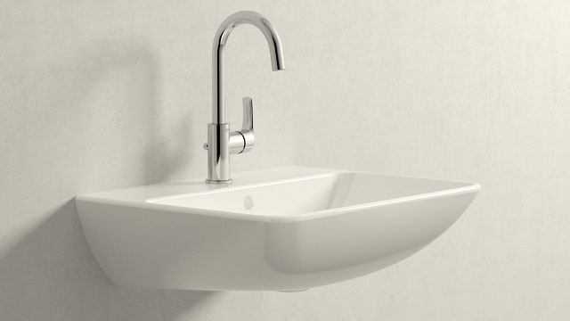 GROHE Eurosmart NEW L-TAILLE + Duravit ME by Starck