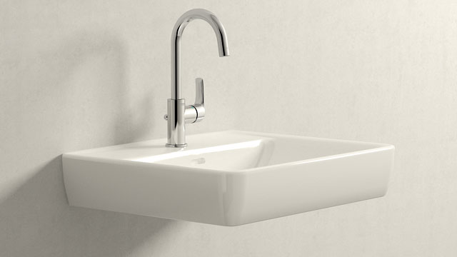 GROHE Eurosmart NEW L-TAILLE + Laufen Pro A