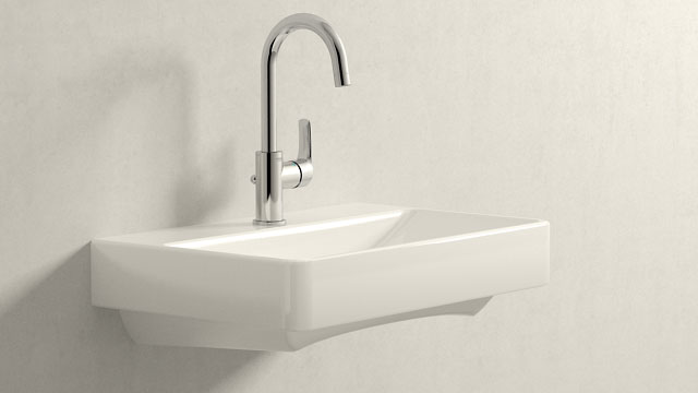 GROHE Eurosmart NEW L-TAILLE + Laufen Pro S