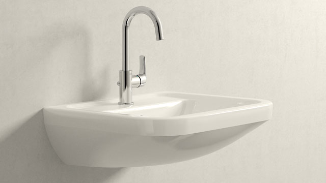 GROHE Eurosmart NEW L-TAILLE + Villeroy&Boch Omnia architectura