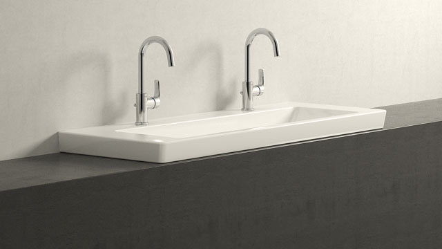 GROHE Eurosmart NEW L-TAILLE + Villeroy&Boch Subway 2.0