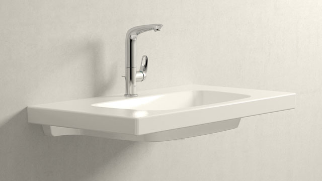 GROHE Eurostyle L-SIZE + Burgbad Max2