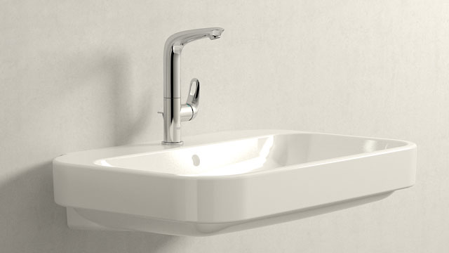 GROHE Eurostyle L-SIZE + Duravit Happy D.2