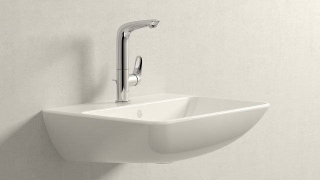 GROHE Eurostyle L-SIZE + Duravit ME by Starck