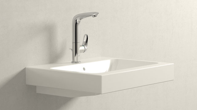 GROHE Eurostyle L-ГАБАРИТЫ + Keramag iCon