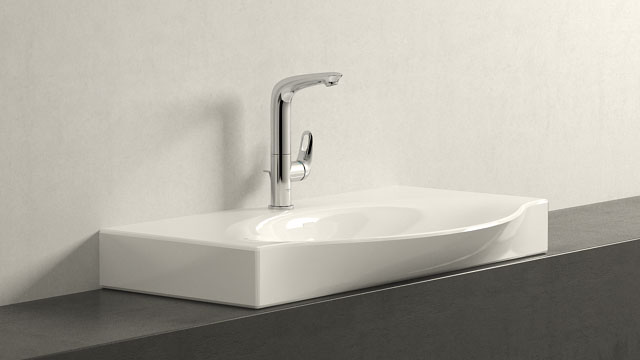 GROHE Eurostyle L-ГАБАРИТЫ + Laufen Palace