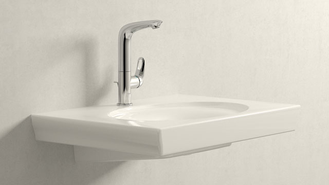 GROHE Eurostyle L-ГАБАРИТЫ + Villeroy&Boch LaBelle