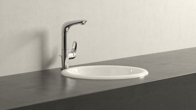 GROHE Eurostyle LStørrelse + Villeroy&Boch Loop & Friends