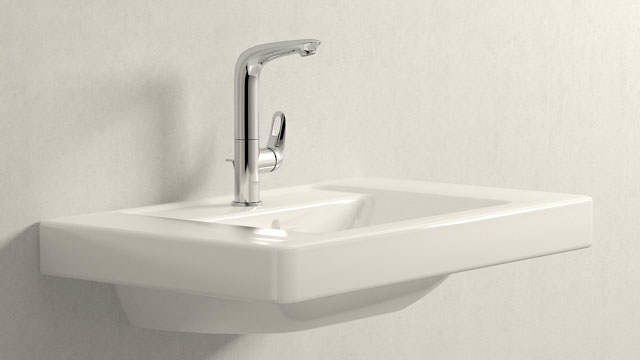 GROHE Eurostyle L-ГАБАРИТЫ + Villeroy&Boch Omnia architectura