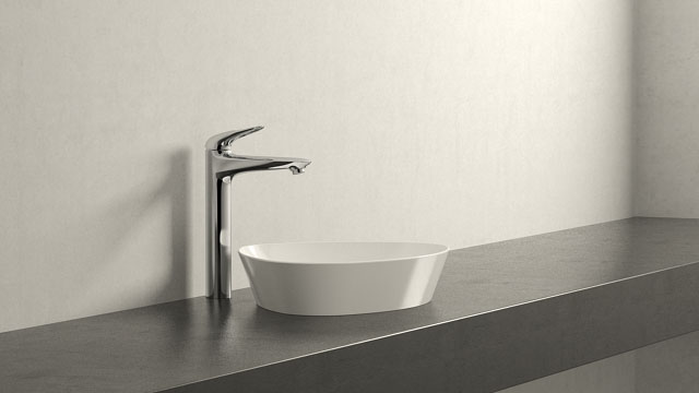 GROHE Eurostyle XL-SIZE + Duravit Cape Cod