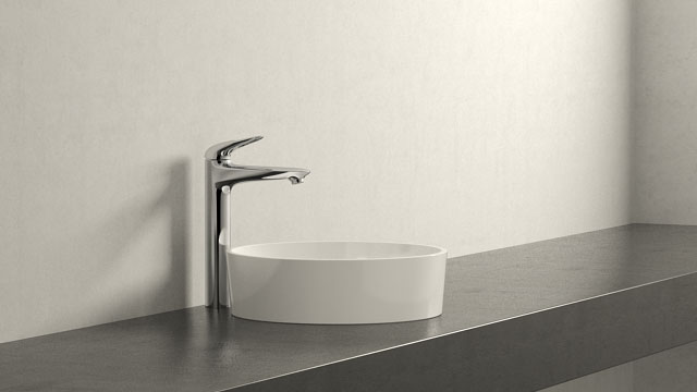 GROHE Eurostyle XL-SIZE + Laufen Kartell by Laufen