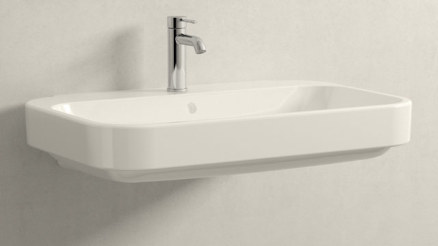 GROHE Essence NEW STAGLIA - + Duravit Happy D.2