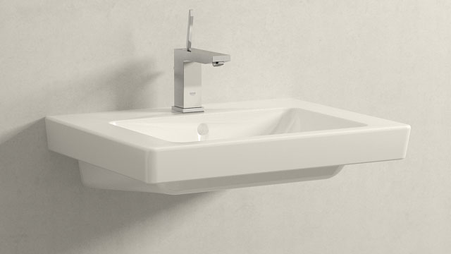 GROHE EUROCUBE JOYSTICK M-TAILLE + Villeroy&Boch Subway 2.0
