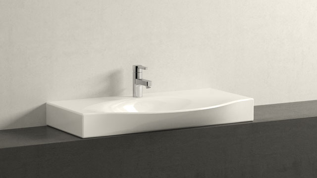 GROHE LINEARE S-VELIKOST + Laufen Palace