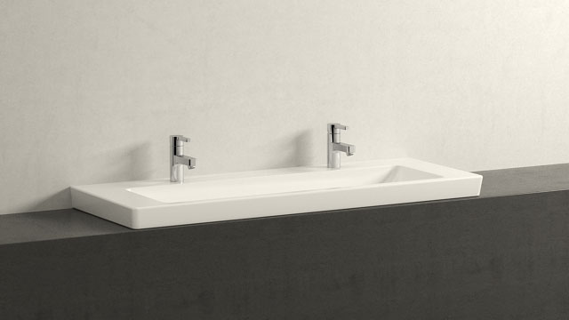 GROHE LINEARE S-VELIKOST + Villeroy&Boch Subway 2.0
