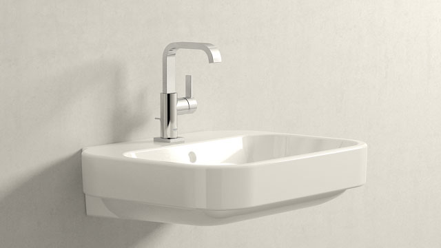 GROHE Allure L-VELIKOST + Duravit Happy D.2