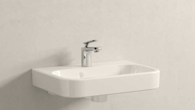GROHE Veris XS-TAILLE + Duravit Happy D.2