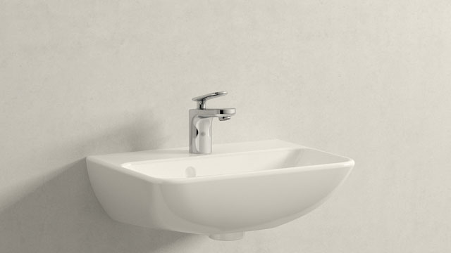 GROHE Veris XS-SIZE + Duravit ME by Starck